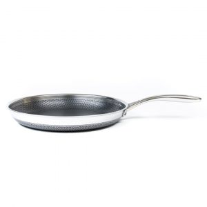 HexClad Hybrid Cookware 12 Inch Non Stick Stainless Steel Frying Pan