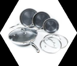 HexClad Hybrid Cookware